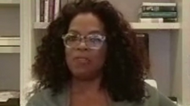 Oprah: I'm really happy by myself