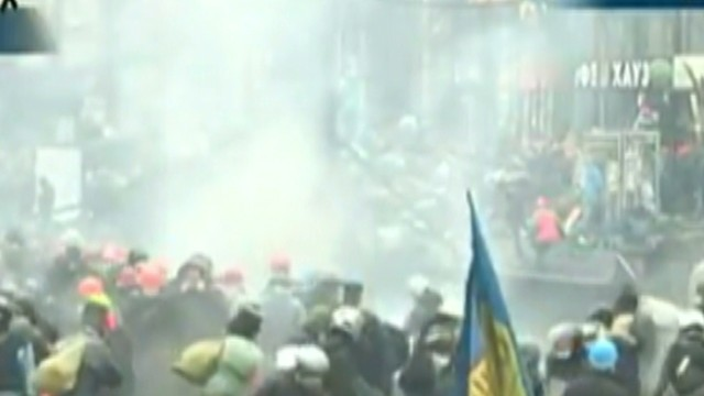 New round of violence erupts in Kiev