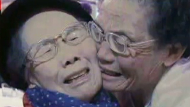 Korean families reunited after decades