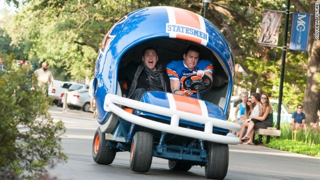 "Jonah Hill and Channing Tatum star in ""22 Jump Street."""