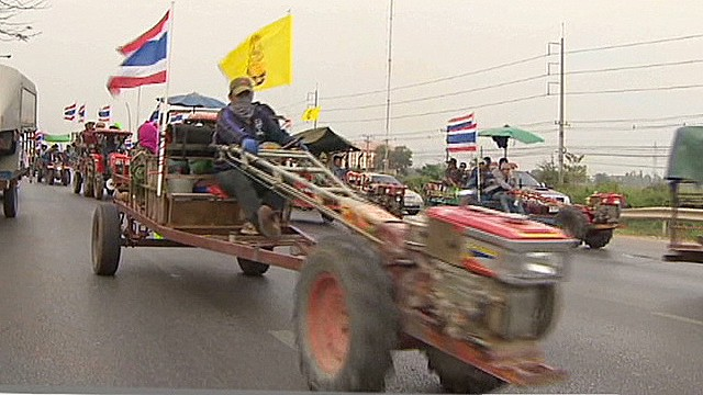 Thailand farmers call off protest