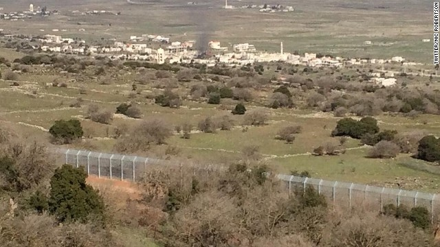 Syrian war comes to Israeli border