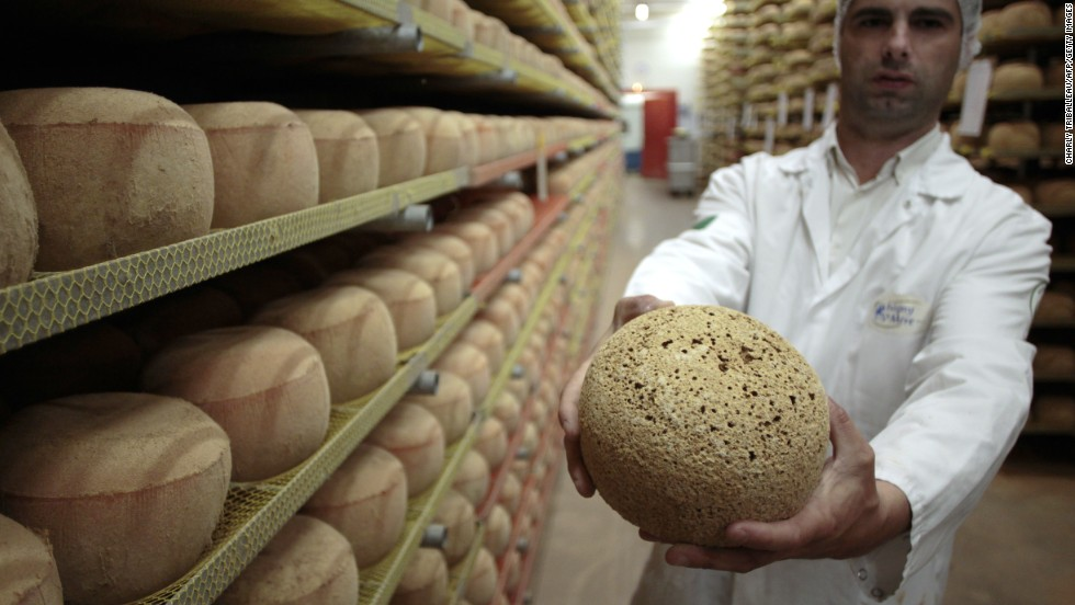No one's arguing against the existence of great cheeses around the world -- but no French citizen needs to go much further than the corner shop to find one. Mimolette (pictured) is just one of its edible works of art.