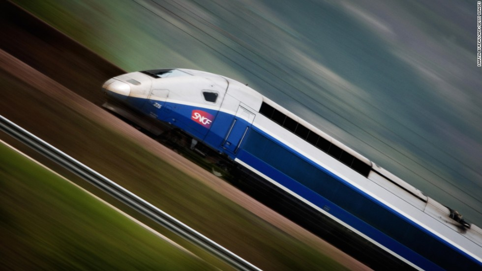 "The French weren't joking when they called their high-speed rail network  train à grande vitesse -- ""very fast train."""