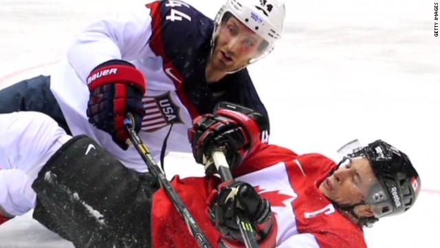 Winner of USA vs. Canada hockey game ...