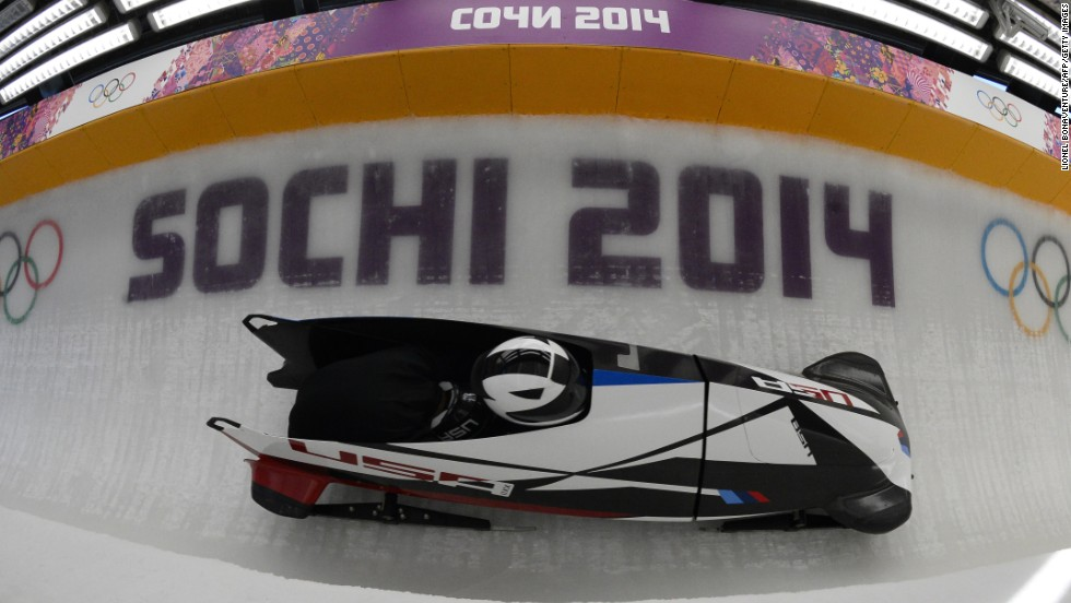 The American two-man bobsleighs were made by German car manufacturer BMW. The fiberglass, ergonomic sleigh with brand new steering system delivered, as Steven Holcomb and Steven Langton won bronze -- Team USA's first medal in this event for 62 years.
