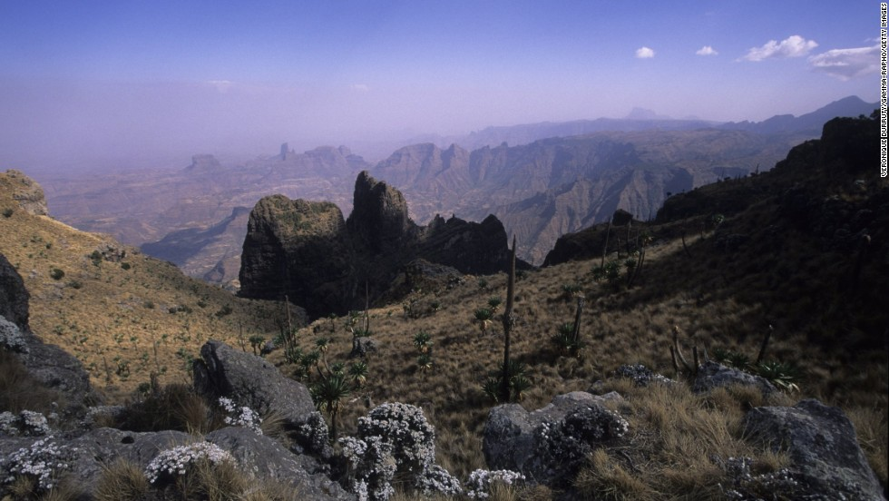 Simien National Park in Ethiopia features some of the world's most magnificent landscapes.