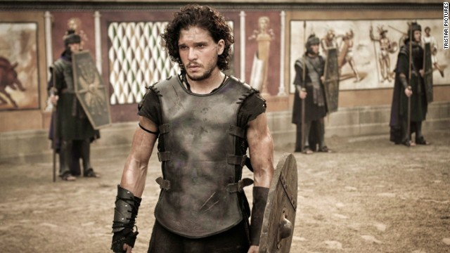 "Kit Harington stars as Milo in ""Pompeii."""