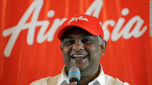 AirAsia chief executive Tony Fernandes has built the Malaysia-based company into Asia's largest budget carrier.