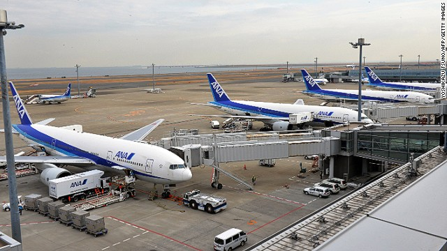 According to Star Alliance, All Nippon Airways' (ANA) is the world's ninth largest carrier, operating about a thousand flights per day.