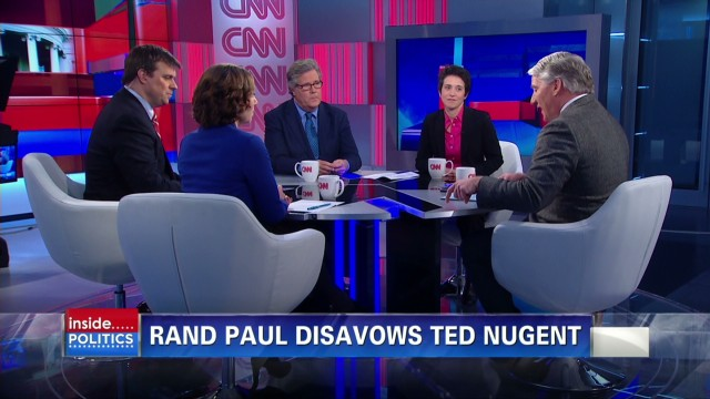 'Inside Politics' panel on Paul, Nugent