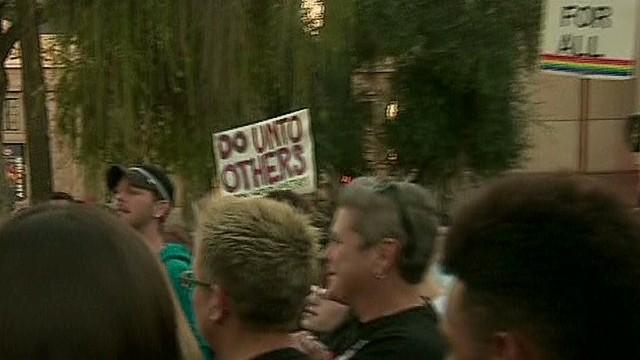 Arizona protesters: Stop 'anti-gay' bill