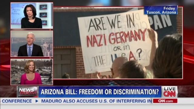 Protesters want Ariz. Gov. to veto bill