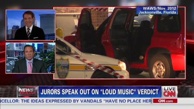 Jurors speak out on 'loud music' verdict