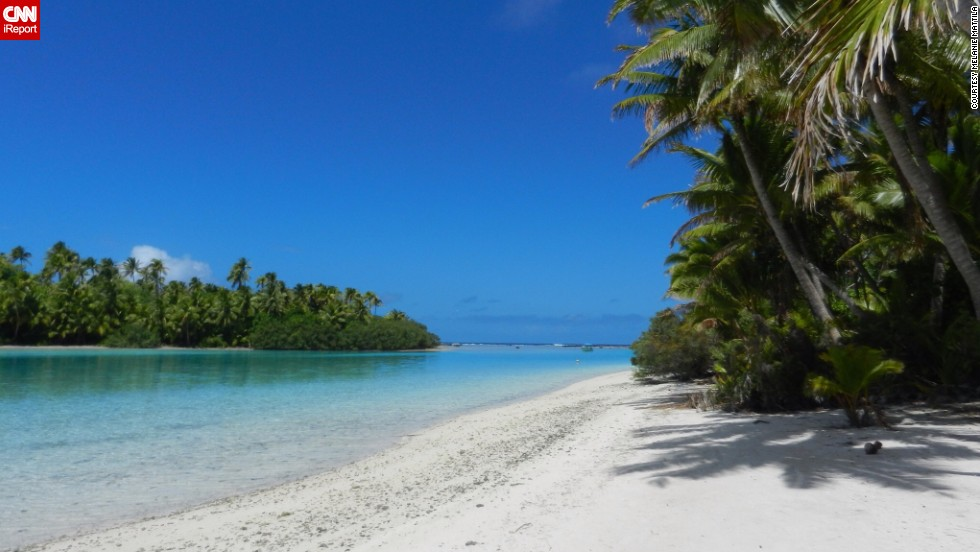 "<a href=""http://ireport.cnn.com/docs/DOC-1092400"">Melanie Mattila</a> visited One Foot Island in Aitutaki in October 2013. Aitutaki is one of the Cook Islands in the South Pacific. She says she enjoyed the tranquility of the beach the most."