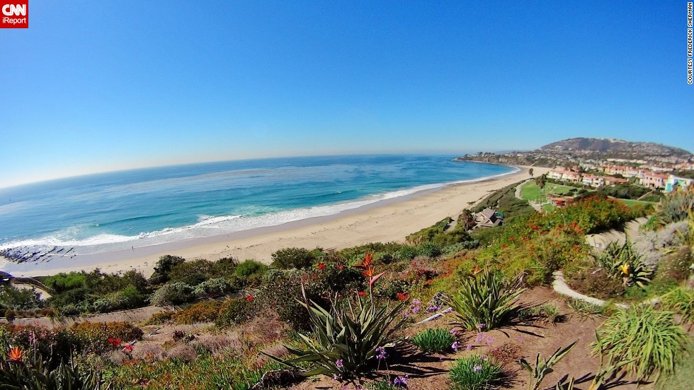 """Travel blogger <a href=""""http://ireport.cnn.com/docs/DOC-1094194"""">Frederick Sherman</a> captured this shot of the Orange County coastline in Dana Point, California, in October 2013. """"I travel around the world and still find the coast of Southern California has some of the most stunning vistas anywhere,"""" he said."""
