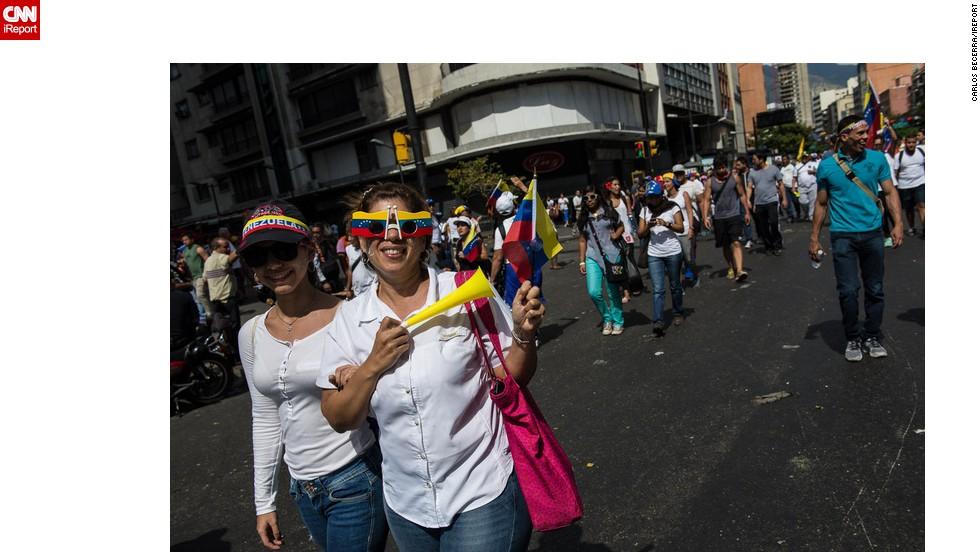 Los venezolanos piden la paz.