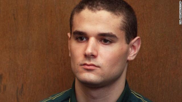 Samuel Sheinbein appears in a Tel Aviv court in 1999.