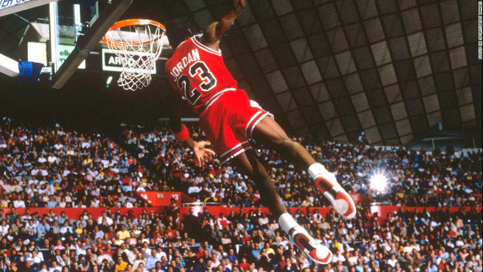 Anyone who watched Michael Jordan play for the Chicago Bulls in the 1980s and 1990s knows why he's widely considered to be the greatest basketball player of all time. Jordan led the Bulls to six NBA titles in an eight-year span.