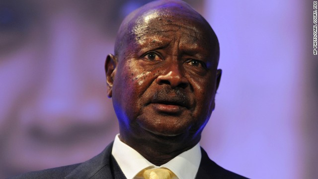 Ugandan pres. rejects Western criticism