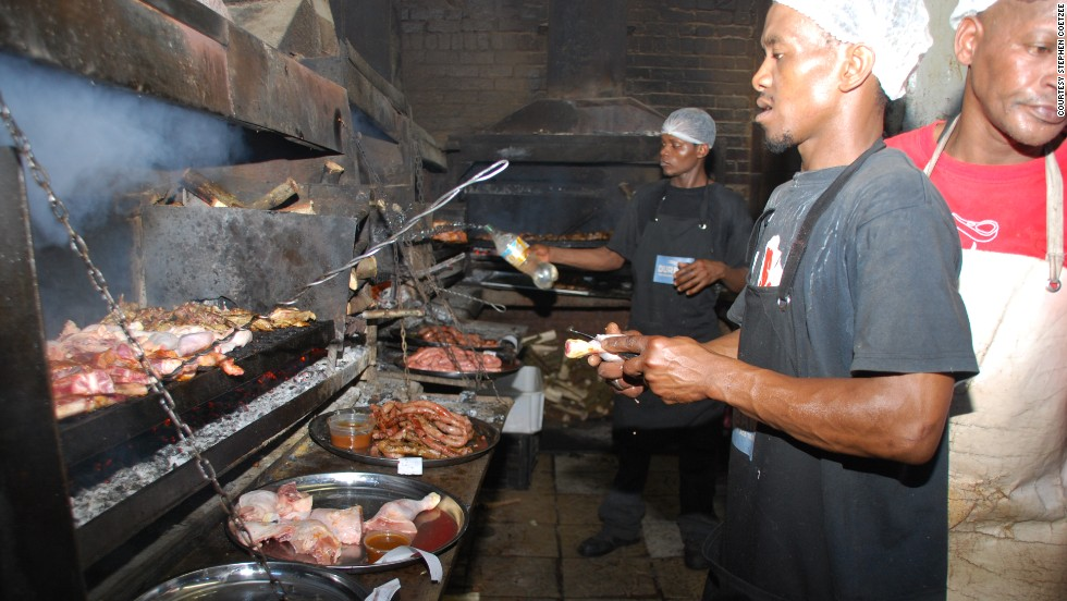 Mzoli's is a wildly popular braai restaurant in Cape Town.