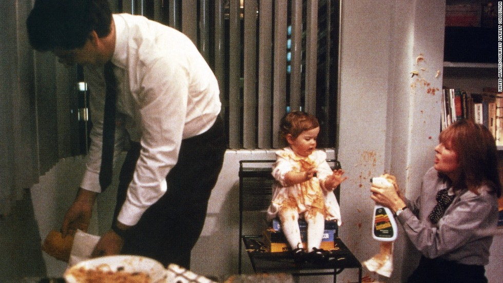 """Ramis and Diane Keaton appear in the 1987 film """"Baby Boom."""""""