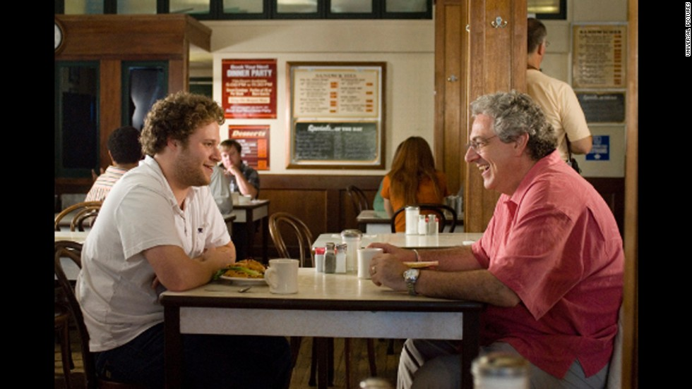 "Ramis played Seth Rogen's father in ""Knocked Up"" (2007)."