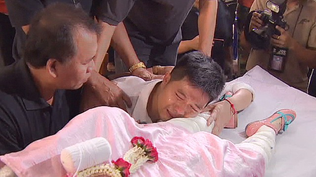 Bangkok grenade attack victims laid to rest