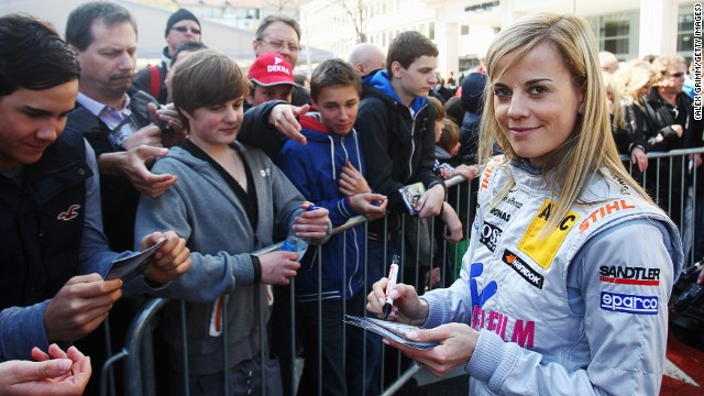 Susie Wolff joined Williams in 2012 after seven years in the German Touring Car championship.