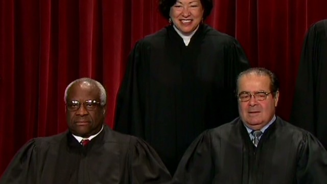 Clarence Thomas' eight years of silence