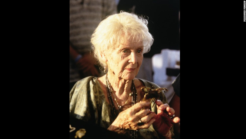 "At 87, Gloria Stuart was nominated for best supporting actress for her performance in 1997's ""Titanic"" -- 65 years after she made her first movie. She remains the oldest person ever nominated for a competitive Oscar."