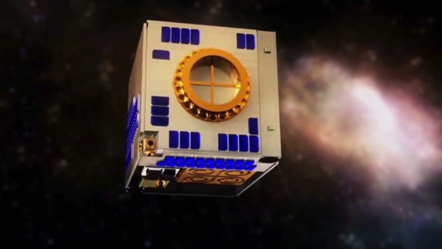 Tiny cubes will beam Netflix from space?