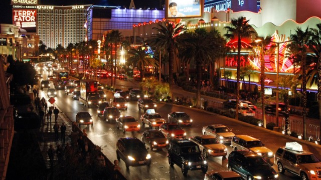 David Frum says the recession hit Las Vegas hard and it hasn't fully recovered.