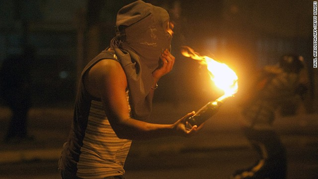 Protests continue in Venezuela