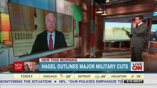 McCain: Military cuts are a 'mistake'