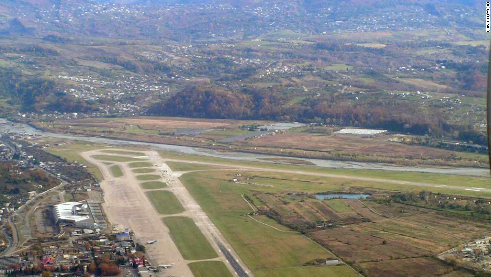 "Tying with Polkovo is Sochi Airport. It was nominated as one of the <a href=""/2014/02/25/travel/most-scenic-touchdowns/index.html"" target=""_blank"">world's most scenic airport approaches</a> in a survey by private-jet charter firm PrivateFly.com in 2014."