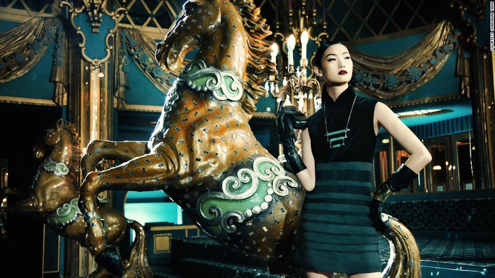 """From its turn as a 1920s feminist statement to modern incarnations, the Hong Kong Museum of History's """"<a href=""""http://hk.history.museum/en_US/web/mh/exhibition/current.html"""" target=""""_blank"""">A Century of Fashion: Hong Kong Cheongsam Story</a>"""" celebrates the iconic dress. This contemporary version (not featured in the exhibit) is from Hong Kong fashion brand Shanghai Tang."""