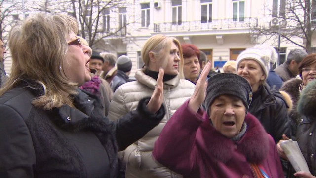 Strategic city fears Ukrainian uprising