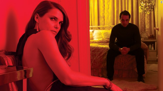 "Keri Russell and Matthew Rhys star as KGB spies in FX's ""The Americans."""
