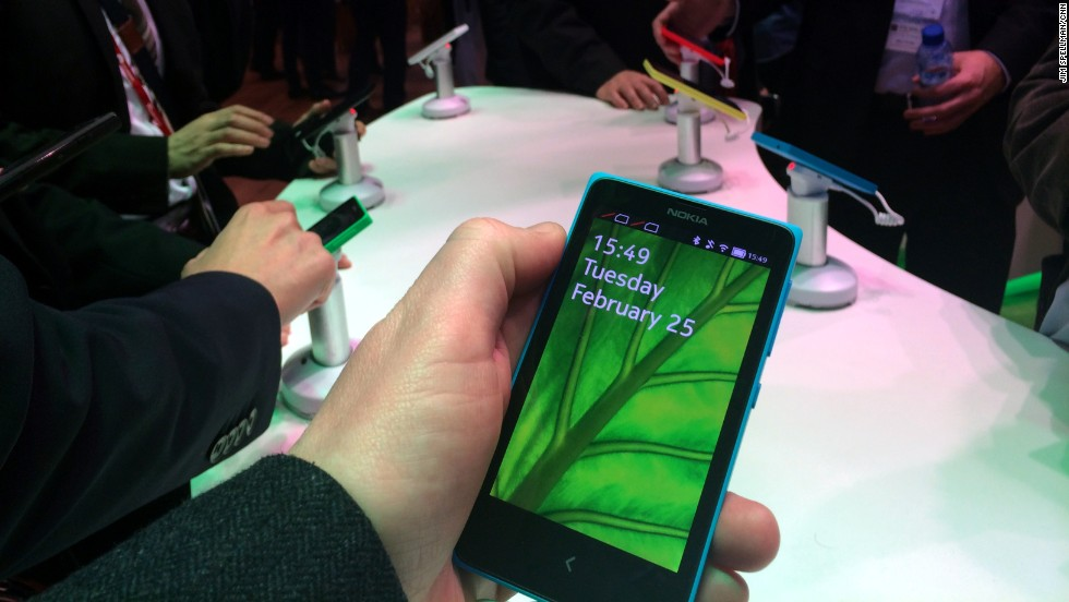 "1. The new<a href=""http://money.cnn.com/2014/02/24/technology/mobile/nokia-x-android/""> Android-powered</a> <strong>Nokia X</strong> range."