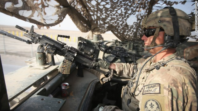 Veteran on 'zero option' in Afghanistan