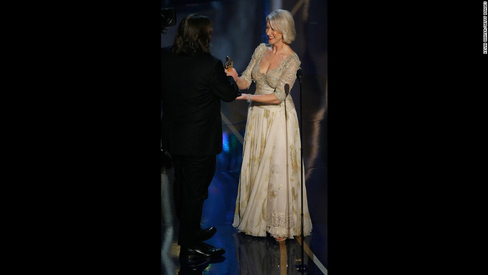 "Helen Mirren at the 2007 Oscars was proof that Hollywood ageists have it all wrong. We'll take a <a href=""http://www.cnn.com/2014/01/30/showbiz/celebrity-news-gossip/christie-brinkley-60/"">sassy sexagenarian</a> in a flowing, perfectly tailored Christian Lacroix dress over a younger ill-dressed starlet any day."