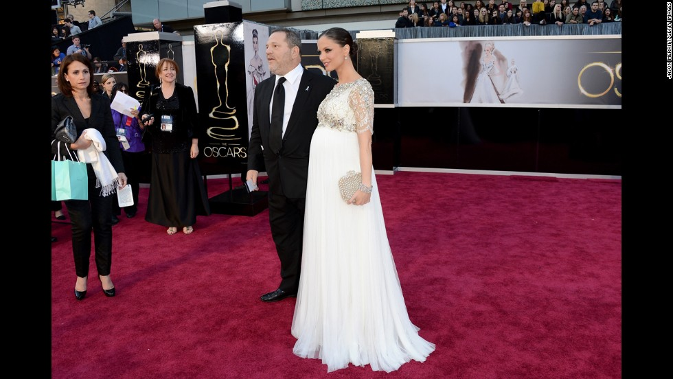 You might say calling Georgina Chapman best-dressed is biased because she's a model and co-founder of the fashion label Marchesa. But we were smitten with the dreamy ivory gown she wore while pregnant at the 2013 Oscars.