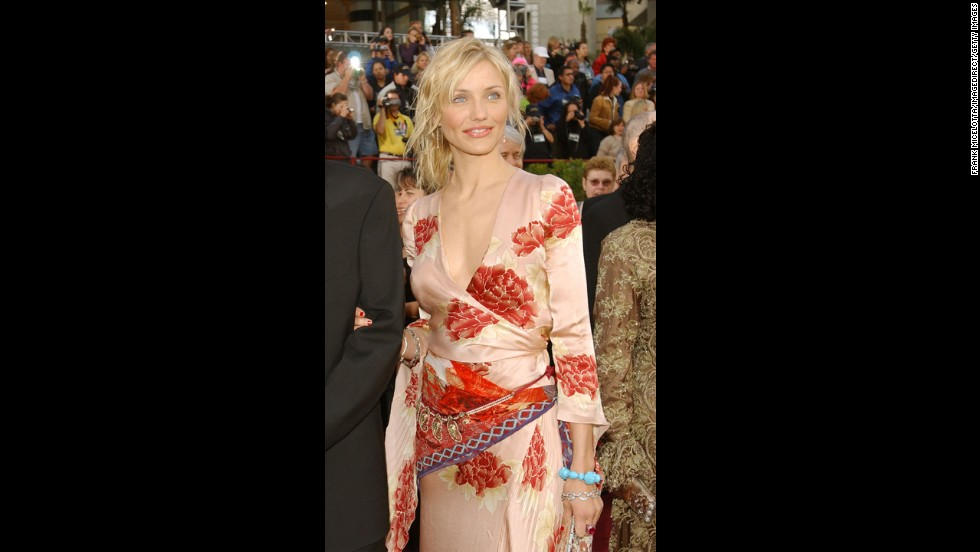 At the time, Cameron Diaz's Asian-inspired floral gown may have seemed unique and progressively on-trend. And perhaps it would have been, had she worn it anywhere other than the Oscars in 2002.