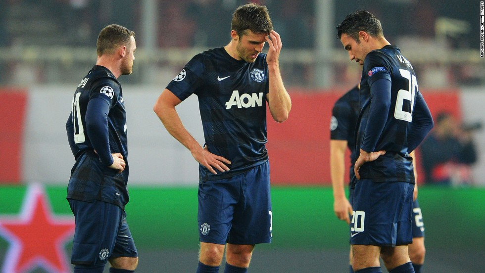 Manchester United, however, had far less joy on the road, going down 2-0 to Olympiakos in Athens -- a result which piles more pressure on manager David Moyes. United will need to produce something special at Old Trafford to make up for a dismal display in the first leg.