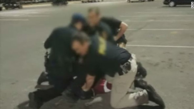 Phone video shows fatal police encounter