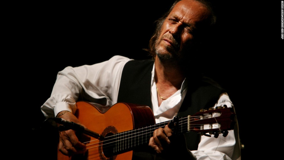 "Spanish guitarist <a href=""http://www.cnn.com/2014/02/26/showbiz/paco-de-lucia-death/"">Paco de Lucia</a>, seen here in 2006, died February 25 of an apparent heart attack. He was 66. De Lucia transformed the folk art of flamenco music into a more vibrant modern sound."