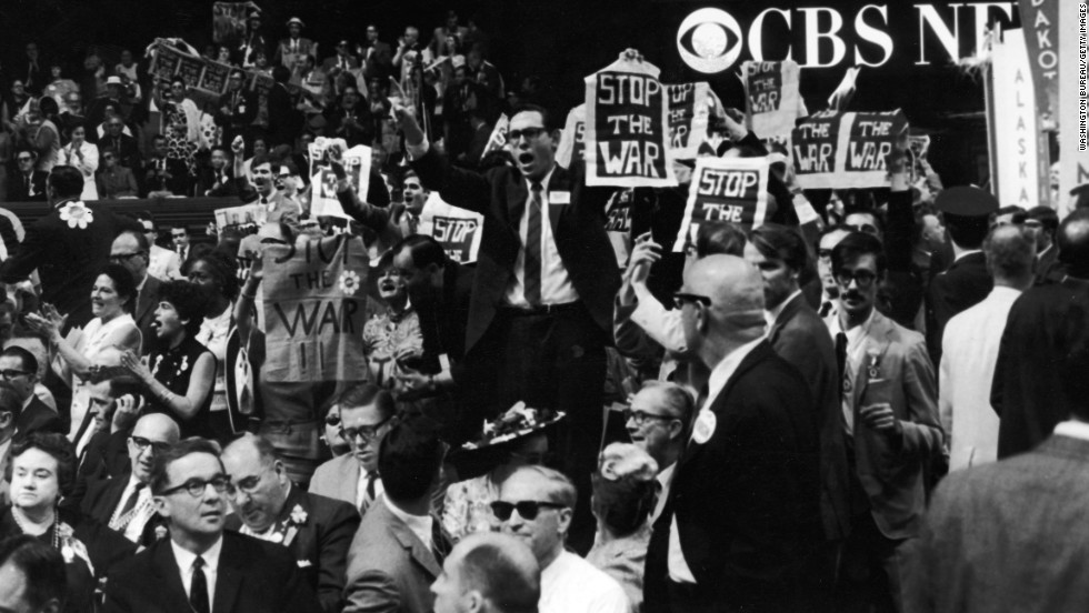 a history of the 1968 democratic national convention in the united states A year of discontent protestors at the 1968 chicago democratic national convention exclaimed that all international eyes were on the united states.