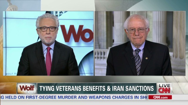 Sen. Sanders on supporting Veterans