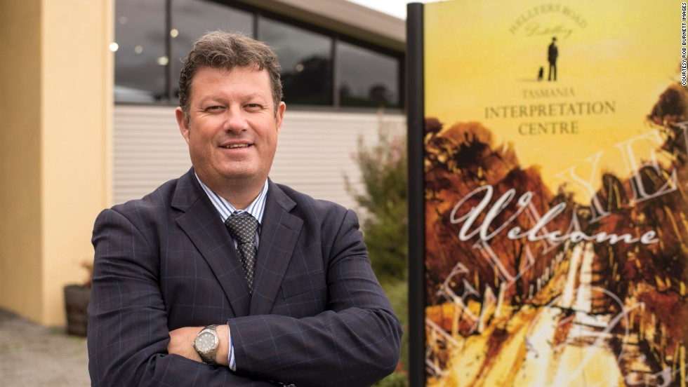 "Mark Littler is master distiller and general manager of Australia's biggest whiskey distillery, Hellyers Road. ""These are exciting times for us,"" he says."